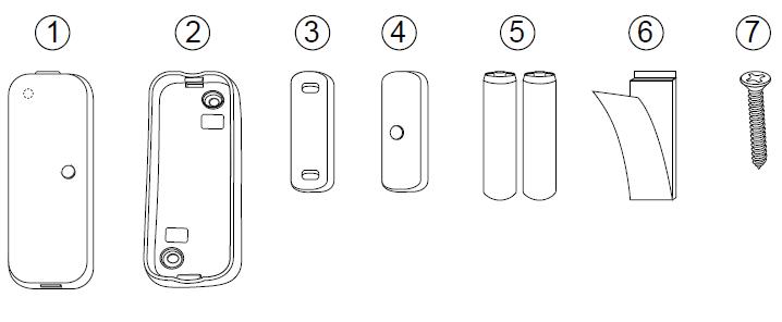 Sensors :: Door & Window :: Aeotec Door/Window Sensor gen5